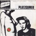 Titelseite von Chelsea Chronicle Nr. 3, leider durch ein Bananenetikett verunstaltet.